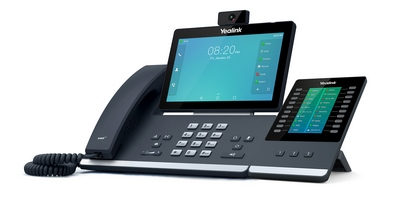 Yealink SIP-T58A with camera — видеотелефон от Yealink под управлением ОС Android