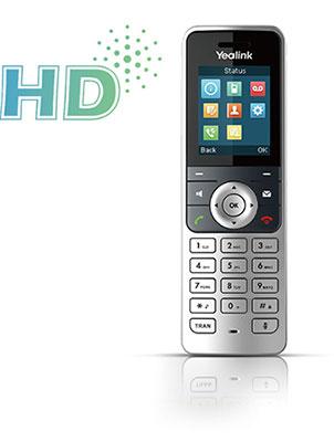 Премиум качество звука HD вYealink W53H