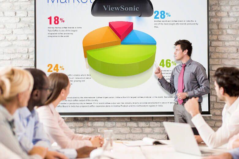 Стандартный фокус ViewSonic фото