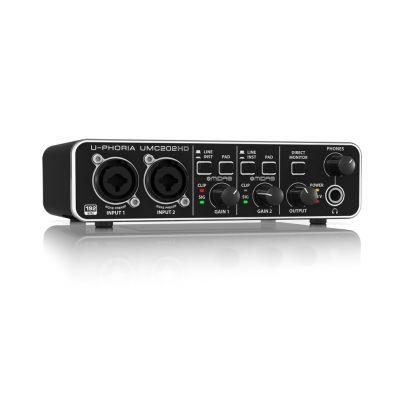 USB-аудиоинтерфейс Behringer UMC202HD
