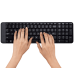 Беспроводной комплект клавиатура / мышка Logitech Wireless Combo MK220