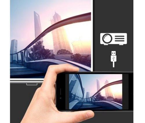 Отображение экрана мобильного телефона через USB в Acer C202i