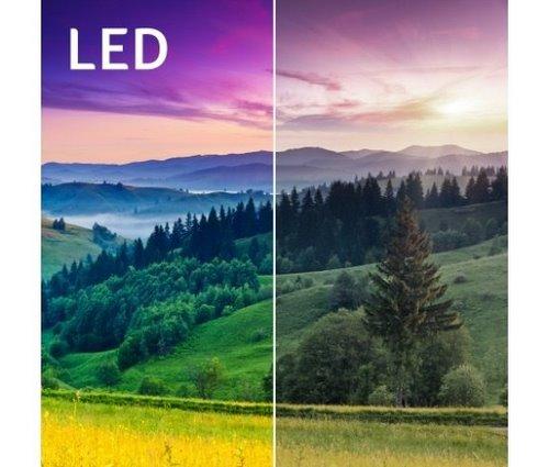 Широкая цветовая гамма светодиодной подсветкиAcer C202i
