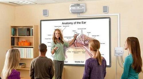 Лучший интерактивный опыт обучения cпомощью мультимедийных проекторов