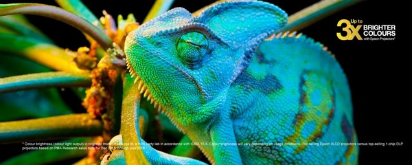 Яркие цвета иизображениевысокой четкости в проектореEpson EH-TW5650
