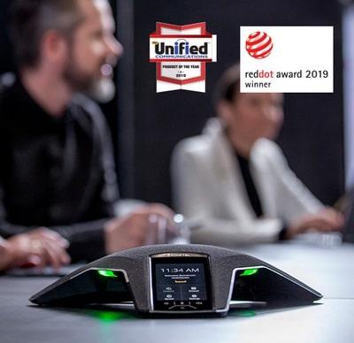 Konftel 800 победитель Red Dot Award 2019