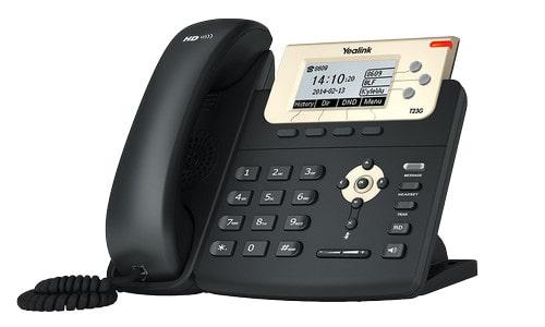 Yealink SIP-T23G — это новый корпоративный телефон компании Yealink в Минске