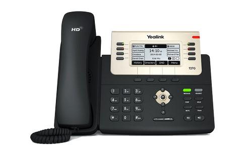 Yealink SIP-T27G — это многофункциональный SIP-телефон для бизнеса
