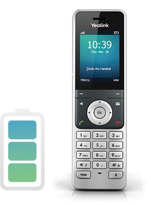 Долговечный аккумулятор вYealink W60P